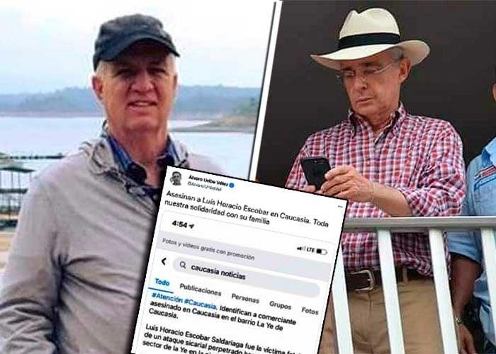 El turbio ganadero asesinado en Antioquia, un viejo conocido de Uribe