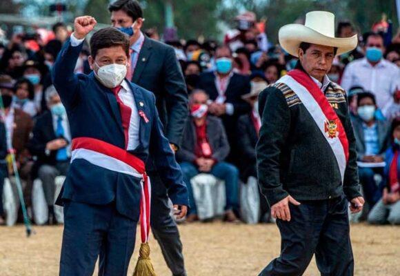 Apretada de pantalones del presidente de Perú