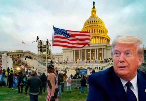 Trump quiere desaparecer los registros del asalto al Capitolio